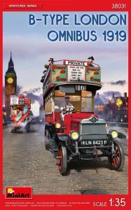 B-Type London Omnibus (1919) · MA 38031 ·  Mini Art · 1:35