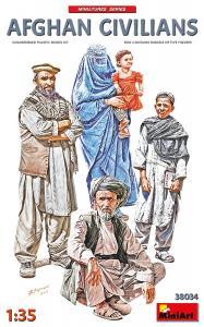 Afghan Civilians · MA 38034 ·  Mini Art · 1:35