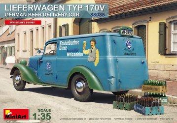 Lieferwagen Typ 170V German Beer Delivery Car · MA 38035 ·  Mini Art · 1:35
