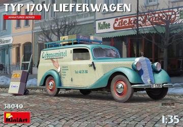 Typ 170V Lieferwagen · MA 38040 ·  Mini Art · 1:35