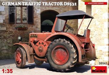 German Traffic Tractor D8532 · MA 38041 ·  Mini Art · 1:35