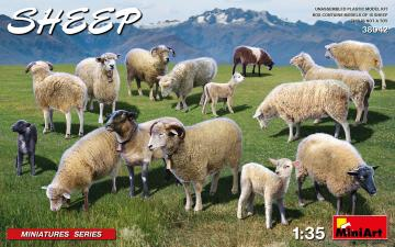 Sheep · MA 38042 ·  Mini Art · 1:35