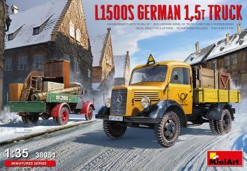 L1500S German 1,5t Truck · MA 38051 ·  Mini Art · 1:35