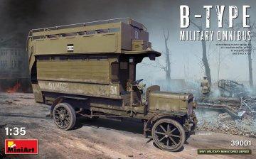 B-Type Military Omnibus · MA 39001 ·  Mini Art · 1:35
