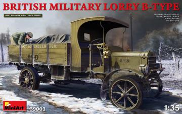 British Military Lorry B-Type · MA 39003 ·  Mini Art · 1:35