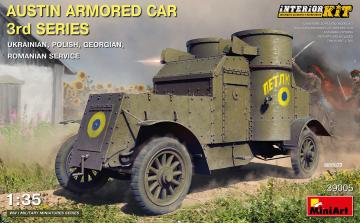 Austin Armored Car 3rd Series:Ukraine,Polish,Georgian,Romanian Servic.Inter Kit · MA 39005 ·  Mini Art · 1:35
