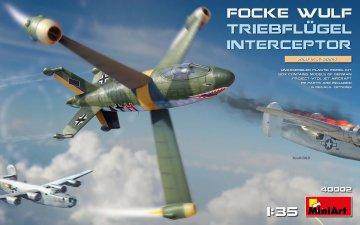 Focke-Wulf Triebflügel Interceptor · MA 40002 ·  Mini Art · 1:35