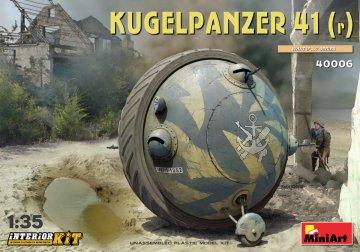 Kugelpanzer 41(r) Interior Kit · MA 40006 ·  Mini Art · 1:35