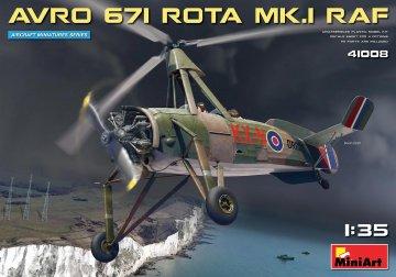 Avro 671 Rota Mk.I RAF · MA 41008 ·  Mini Art · 1:35