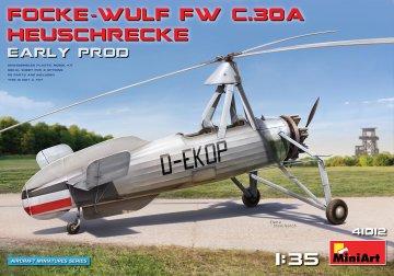 Focke-Wulf Fw C.30A Heuschrecke - Early Production · MA 41012 ·  Mini Art · 1:35