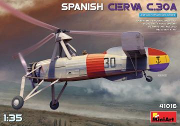 Spanish Cierva C.30A · MA 41016 ·  Mini Art · 1:35