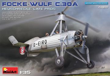 Focke-Wulf FW C.30A Heuschrecke - Late Production · MA 41018 ·  Mini Art · 1:35