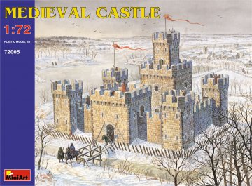 Mittelalterliche Burg · MA 72005 ·  Mini Art · 1:72