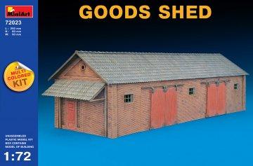 Goods Shed · MA 72023 ·  Mini Art · 1:72