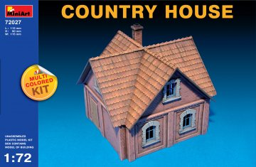 Country House · MA 72027 ·  Mini Art · 1:72