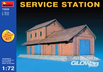 Service Station · MA 72028 ·  Mini Art · 1:72