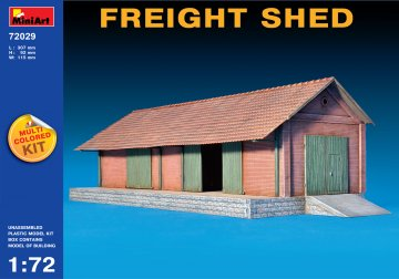Freight Shed · MA 72029 ·  Mini Art · 1:72