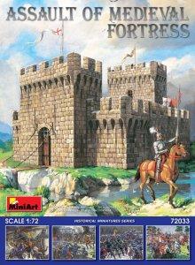 Assault of Medieval Fortress · MA 72033 ·  Mini Art · 1:72