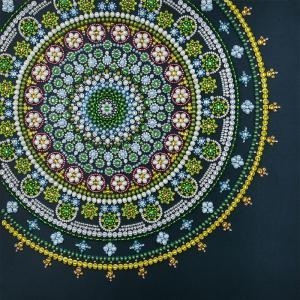 Mandala, Auflage 3, Perlenstickset · MAC 33303 ·  Miniart Crafts