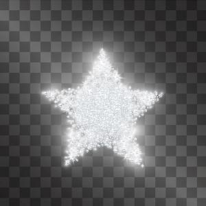 Sparkling Star, Perlenstickset · MAC 55035 ·  Miniart Crafts