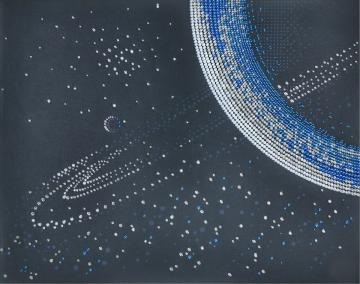 Saturn, Perlenstickset · MAC 88001 ·  Miniart Crafts