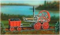 Trevithick Locomotive 1804 · MIN 11102 ·  Minicraft Model Kits · 1:38