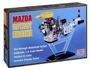 Mazda Visble Rotary Engine · MIN 11201 ·  Minicraft Model Kits · 1:5