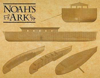Arche Noah · MIN 11316 ·  Minicraft Model Kits · 1:350