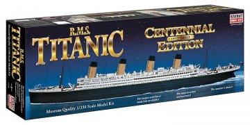 RMS Titanic - New Centennial Edition · MIN 11318 ·  Minicraft Model Kits · 1:350