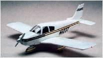Piper Cherokee 140 · MIN 11610 ·  Minicraft Model Kits · 1:48