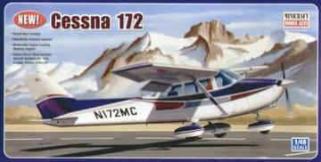 Cessna 172 · MIN 11635 ·  Minicraft Model Kits · 1:48