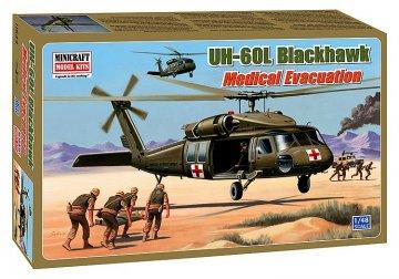UH-60L Blackhawk Medical Evacuation · MIN 11644 ·  Minicraft Model Kits · 1:48