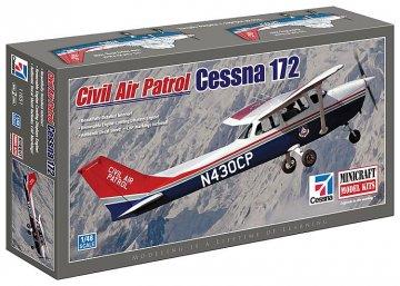 Cessna 172 Civil Air Patrol · MIN 11651 ·  Minicraft Model Kits · 1:48