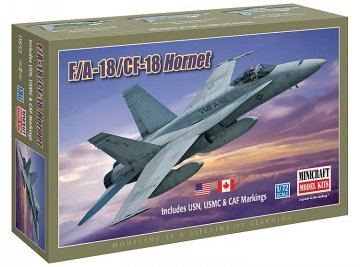 F/A-18/CF-18 Hornet · MIN 11652 ·  Minicraft Model Kits · 1:72