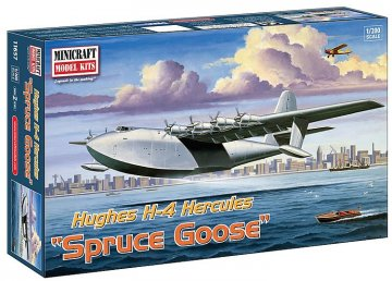 Hughes H-4 Herkules Spruce Goose · MIN 11657 ·  Minicraft Model Kits · 1:200