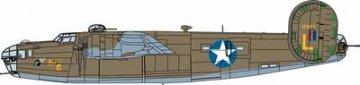 B24-D Liberator USAAF, RAF · MIN 11658 ·  Minicraft Model Kits · 1:72