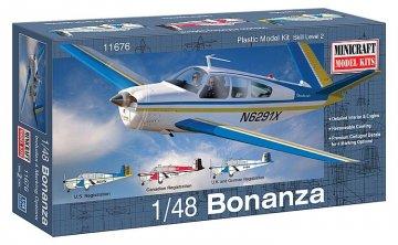 Bonanza · MIN 11676 ·  Minicraft Model Kits · 1:48
