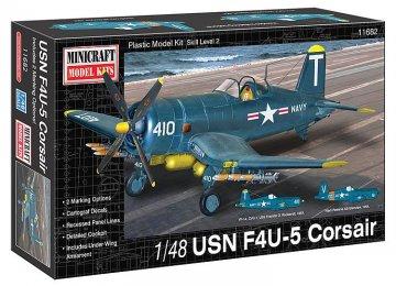 F4U-5 Corsair USN · MIN 11682 ·  Minicraft Model Kits · 1:48