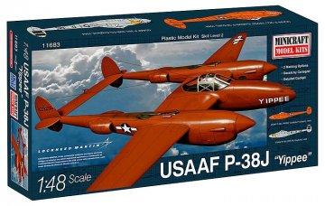 P-38J USAF · MIN 11683 ·  Minicraft Model Kits · 1:48