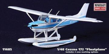 Cessna 172 Wasserflugzeug · MIN 11685 ·  Minicraft Model Kits · 1:48