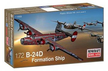 B-24D USAAF · MIN 11689 ·  Minicraft Model Kits · 1:72