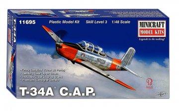 Beechcraft T-34 C.A.P    · MIN 11695 ·  Minicraft Model Kits · 1:48