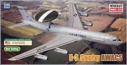 E-3 A Sentry AWACS · MIN 14526 ·  Minicraft Model Kits · 1:144