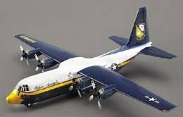 C-130 USMC Blue Angels Fat Albert · MIN 14570 ·  Minicraft Model Kits · 1:144