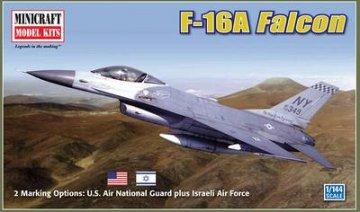 F-16A Falcon · MIN 14598 ·  Minicraft Model Kits · 1:144