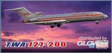 TWA 727-200 Project Skinny · MIN 14599 ·  Minicraft Model Kits · 1:144