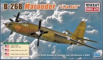 B-26B Marauder · MIN 14601 ·  Minicraft Model Kits · 1:144
