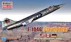 F-104G Starfighter · MIN 14603 ·  Minicraft Model Kits · 1:144