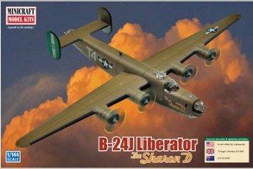 B-24J Liberator · MIN 14608 ·  Minicraft Model Kits · 1:144