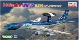E-3A Sentry AWACS-NATO 50th Anniversary · MIN 14611 ·  Minicraft Model Kits · 1:144